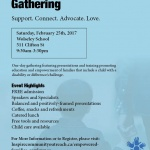 PAST: Empowered Families Gathering: February 25th, 2017