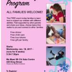 PAST: Empowering Families Program – Feb. 1, 2017