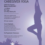 PAST: Exceptional Caregiver Yoga – March 18 & 25, 2017
