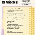 PAST: Get Organized for Advocacy!