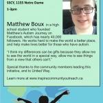 How Autism Inspires- Matthew Boux